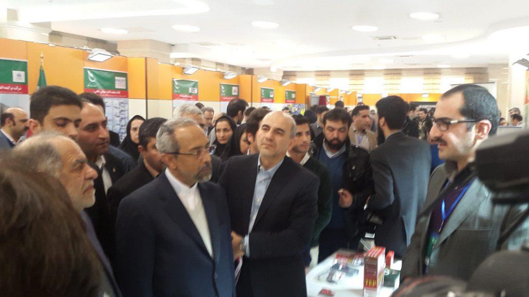 بازدید مهندس اکبر ترکان مشاور عالی رئیس جمهور از شرکت پارس فنآوران رادین