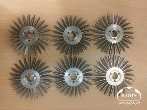 مهندسی معکوس پروانه تیغهای پمپ سولزر