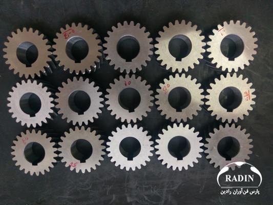 مهندسی معکوس چرخ دنده تایمینگ