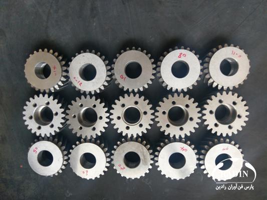 مهندسی معکوس چرخ دنده تایم