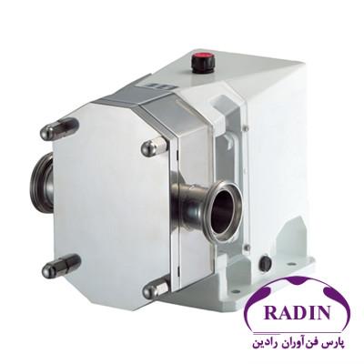 طراحی و ساخت پمپ گوشوارهای رادین سایز دو اینچ